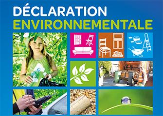 Déclaration environnementale 2013