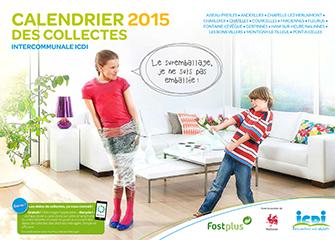 Calendrier 2015 des collectes
