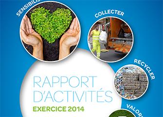 Rapport d'activités, exercice 2014