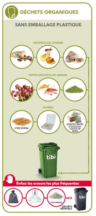 Guide du tri des déchets dans le conteneur à puce vert